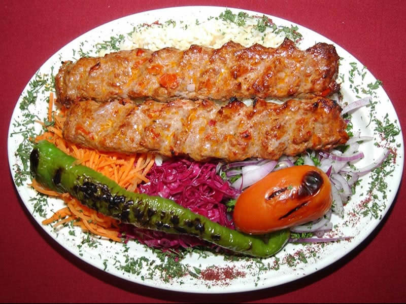 Adana Kebap (minced beef and lamb mixed)