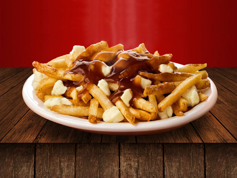 POUTINE EXTRA FROMAGE