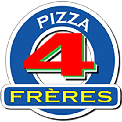 Pizza 4 Freres logo