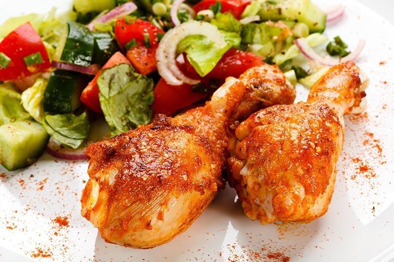 Ailes de poulet (6mcx)