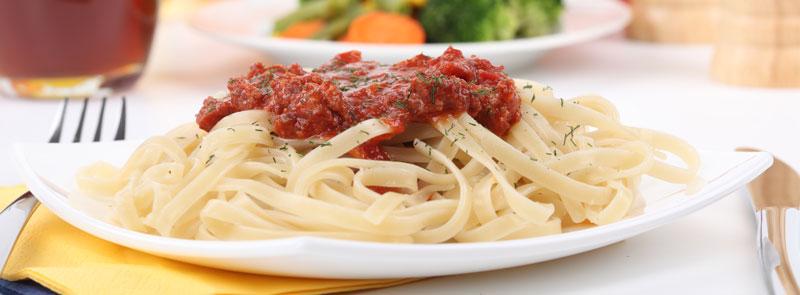 Spaghetti tout garni