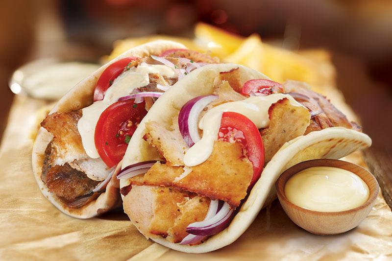 Pita (poulet ou gyros)