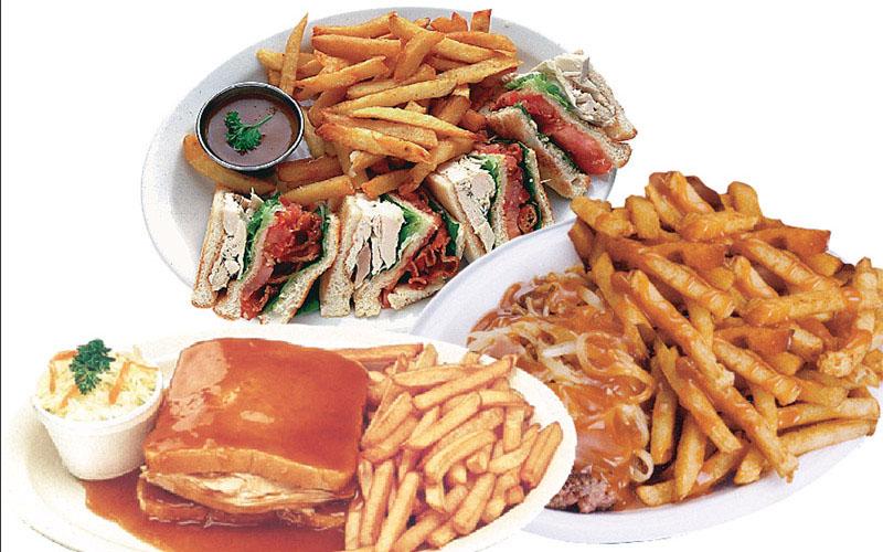 Pork 2 brochettes platter