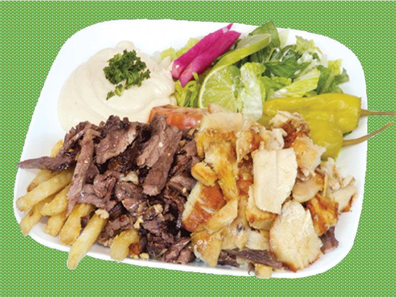 Assiette Shawarma