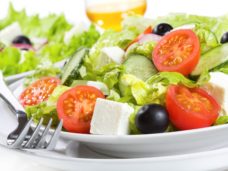 Berger salad (coban salata)