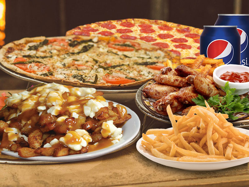 #1) 1 PIZZA BAMBINO + petite frite + 1 pepsi