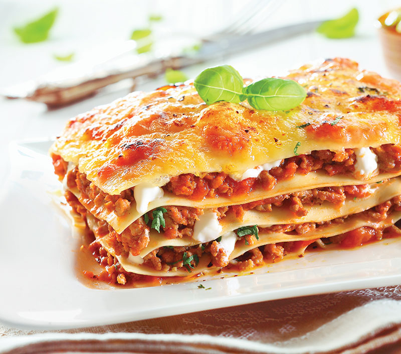 Lasagna au gratin
