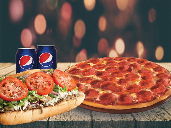 Combo 1# 1 Pizza 10