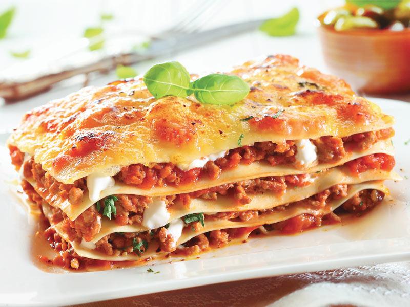 Lasagne gratinée