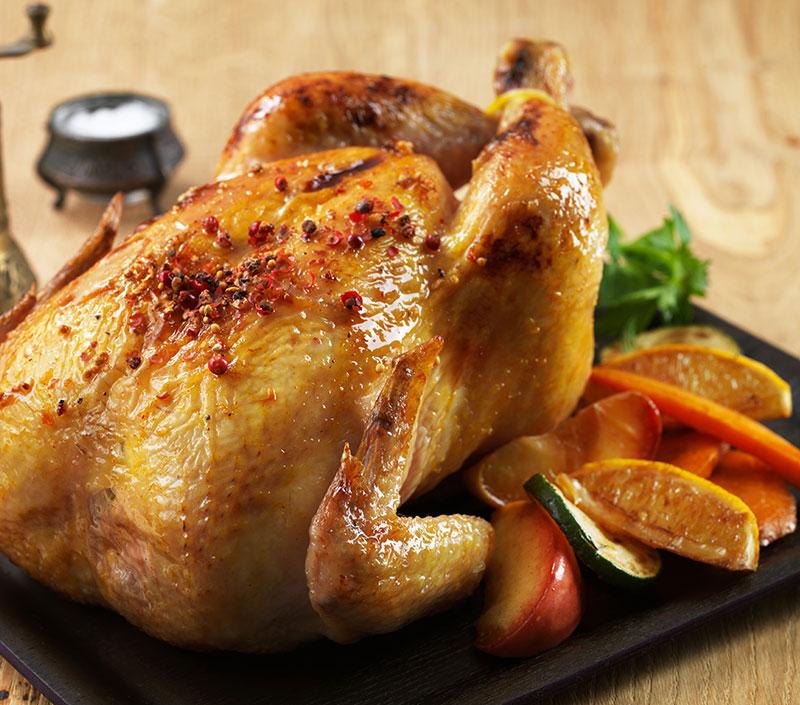 Quart de poulet (poitrine) + 1 boisson gazeuse 355ml